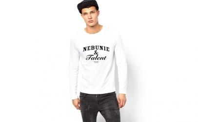 Bluza alba, barbati, Nebunie & Talent