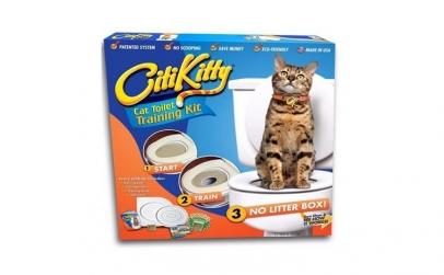 Citi Kitty - kit toaleta pentru pisici