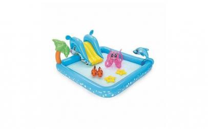Piscina gonflabila joaca pentru copii