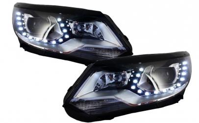 Set 2 faruri LED compatibil cu VW Tiguan