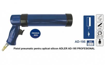 Pistol pneumatic pentru aplicat silicon