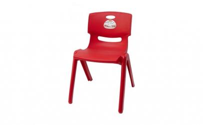 Scaun pentru copii Jumbo rosu, 58 cm