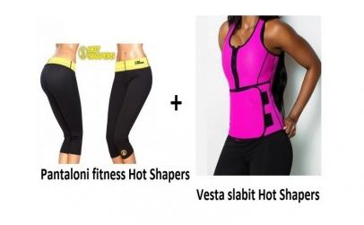 Pantaloni fitness + Vesta slabit