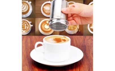 Set Sita pentru decorat cafeaua