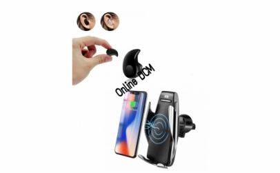 Suport auto + CADOU casca Bluetooth