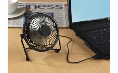 Ventilator mini de birou cu alimentare U