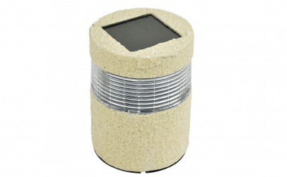 Lampa Solara Cu LED Tip Piatra