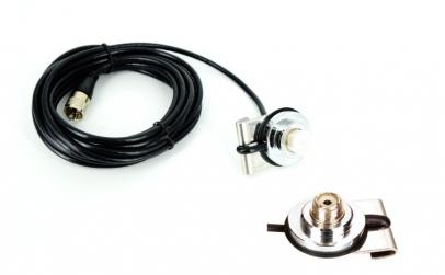 Suport antena CB + cablu 5 m