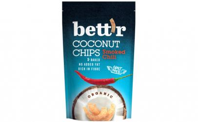 Chips de cocos cu chilli bio, 70g