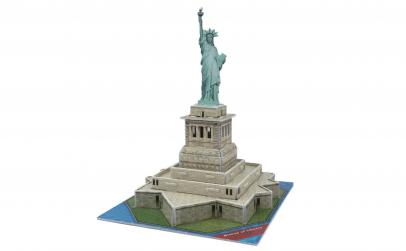 Puzzle 3D model statuia libertatii