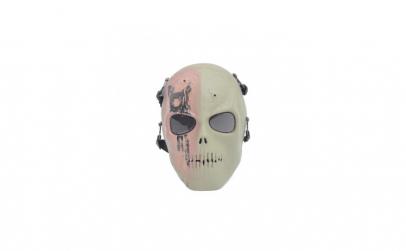 Masca horror pentru Halloween, verde