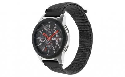 Curea Textila Premium MTP Red Black 22mm