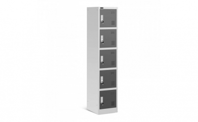 Dulap depozitare metalic 5 comp. modular