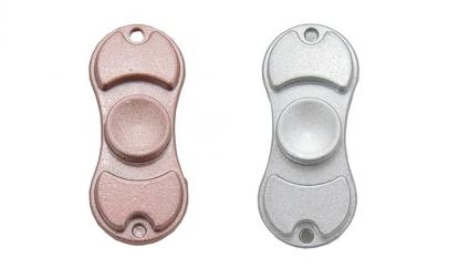 Fidget spinner Duo metalic
