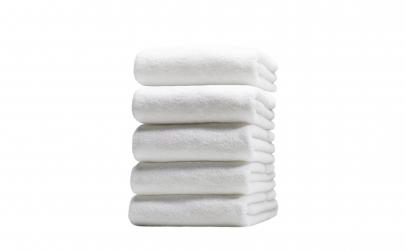 Set 5 prosoape albe, 70 x 140 cm
