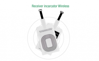 Incarcator Wireless Receiver 5V 1A Qi