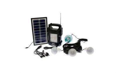 Sistem iluminare cu incarcare solara