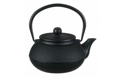 Ceainic din fonta negru 600 ml