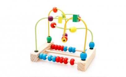 Jucarie Montessori Labirint si Abac