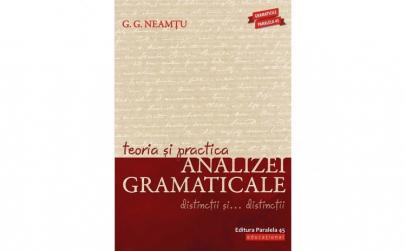 Teoria si practica analizei gramaticale.