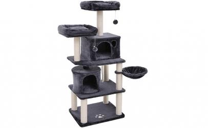 Ansamblu de joaca pentru pisici Gri