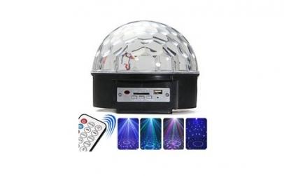 Lampa disco cu proiectie color