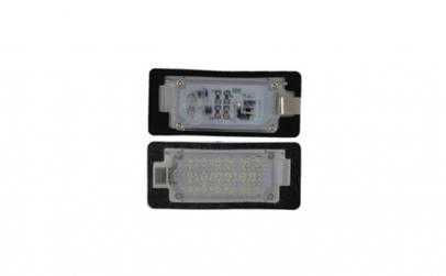 Set 2 lampi LED numar pentru BMW