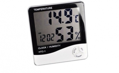 Ceas cu termometru - ecran LCD