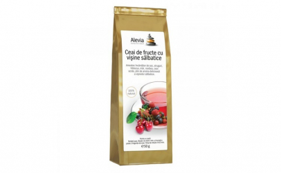 Ceai de fructe cu visine salbatice
