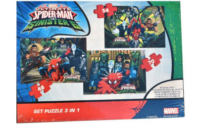 Puzzle Spiderman, 3 In 1