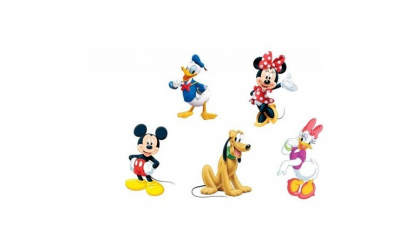Se 5 figurine din desene animate