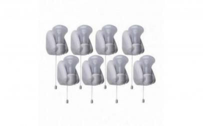 Set 8 mini-becuri LED fara fir