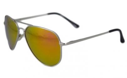 Ochelari de soare Aviator Portocaliu -
