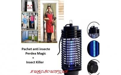 Perdea usa Magic + Aparat anti insecte