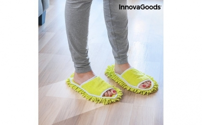Papuci de casa mop InnovaGoods