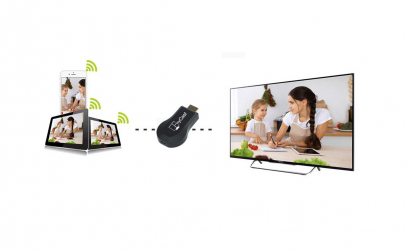 Receiver Dongle pentru TV, WiFi 2.4 GHz,