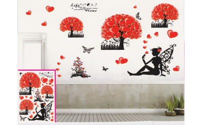 Sticker decorativ 5D Life home