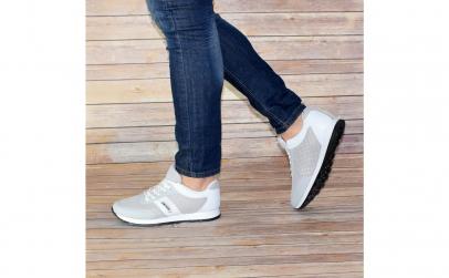 Pantofi casual barbati gri - alb Klein