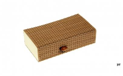 Cutie depozitare din bambus