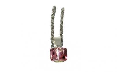 Pandantiv Cube, Light Rose, Argint 925,
