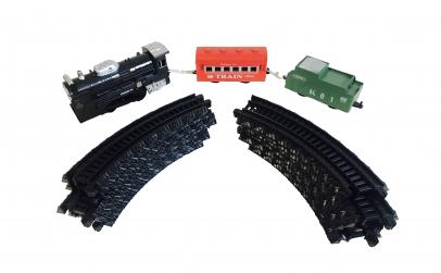 Set tren cu sina demontabila