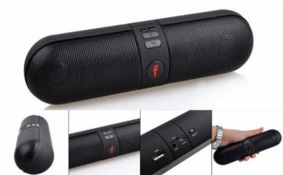 Boxa Portabila cu Bluetooth, MP3 si Radi