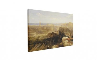 Tablou Canvas Edinburgh from the Castle