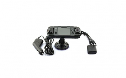 Camera auto dubla X8000 cu GPS