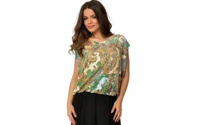 Bluza dama encoeur - multicolor