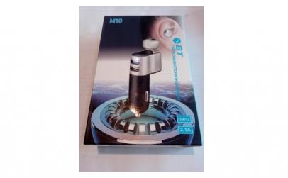 Modulator FM cu casca bluetooth