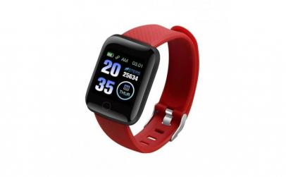 Ceas Smartwatch Techstar® D13 Rosu