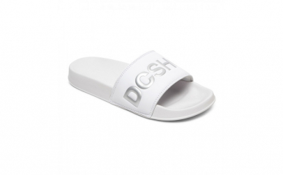 Slapi femei DC Shoes SE Suede Slides