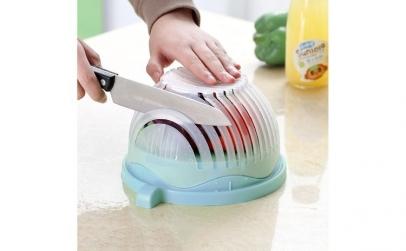 Suport pentru taiat si spalat salata