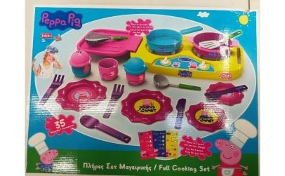 Set bucatarie cu accesorii Peppa Pig